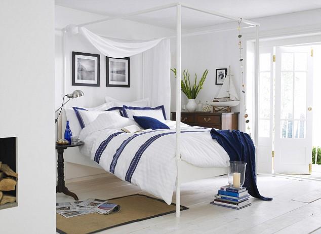 Coastal Style: Nautical Style Bedrooms